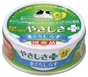 [三洋食品] 食通たまの伝説 やさしさプラス まぐろしらす 70g