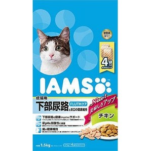 [マースジャパン] IAMAS アイムス 成猫用 下部尿路とお口の健康維持 チキン 1.5kg