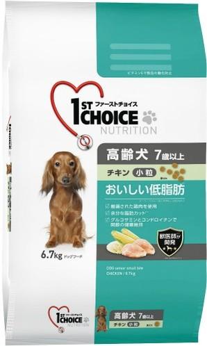 [アース・ペット] ファーストチョイス 高齢犬小粒チキン 6.7kg