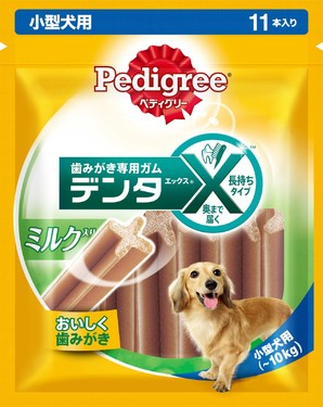 [マースジャパン] PX22 デンタX 小型犬 ミルク 11本