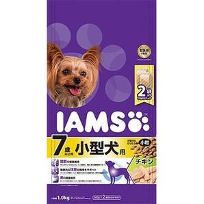 [マースジャパン] IAMAS アイムス 7歳以上用 小型犬用 チキン 小粒 1kg
