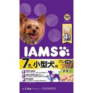 [マースジャパン] IAMAS アイムス 7歳以上用 小型犬用 チキン 小粒 2.3kg