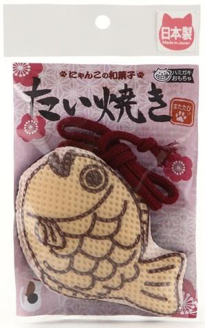 [イトスイ] 国産ハミガキおもちゃ たい焼き S