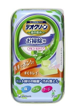 [ユニチャーム] デオクリーン 除菌お掃除ウェットティッシュ 本体 35枚