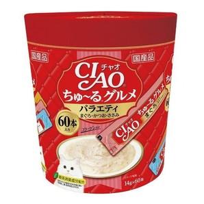 [いなばペットフード] CIAO ちゅ~る グルメバラエティ 14g×60本 SC-138