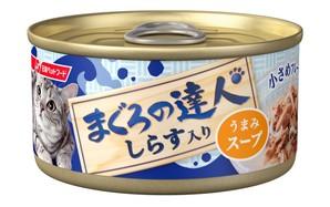 [日清ペットフード] まぐろの達人 しらす入り うまみスープ 80g (TC4)