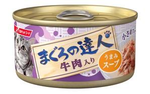 [日清ペットフード] まぐろの達人 牛肉入り うまみスープ 80g (TC5)