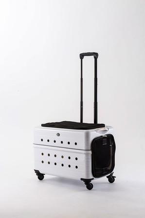 [Rui&Aguri] キャリーケース PK-02B-55 ホワイト ※メーカー直送となります ※通販サイト掲載不可 ※ネット通販での販売不可