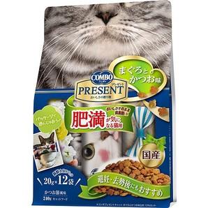 [日本ペットフード] コンボ プレゼント キャット ドライ 肥満が気になる猫用 240g