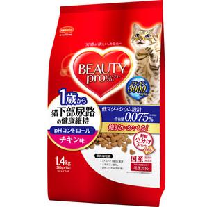 [日本ペットフード] ビューティープロC猫下部チキン1.4kg