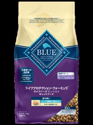 [ブルーバッファロー] ブルー ライフプロテクションフォーミュラ シニア猫用室内 チキン 2kg <専門店様専用商材>※通販サイト掲載不可
