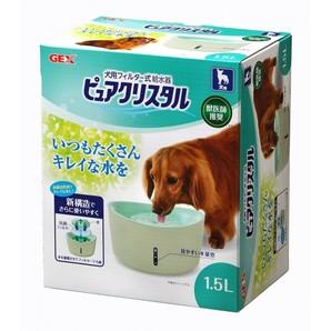 [ジェックス] ピュアクリスタル 1.5L 犬用