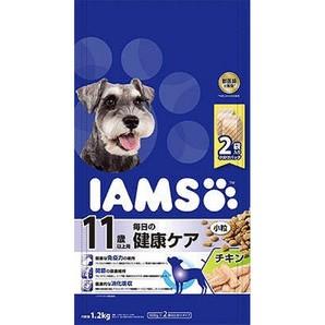 [マースジャパン] IAMAS アイムス 11歳以上用 毎日の健康ケア チキン 小粒 1.2kg
