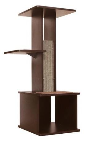 [ペティオ] necoco スリムで壁ぎわに置きやすい キャットリビングタワー