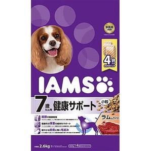 [マースジャパン] IAMAS アイムス 7歳以上用 健康サポート ラム&ライス 小粒 2.6kg