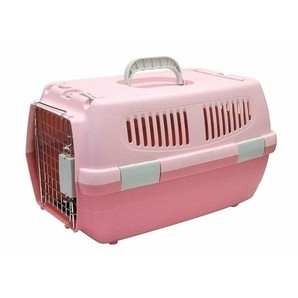 IINA ペットキャリー2ドア ピンク