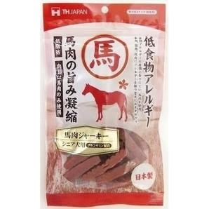 [THジャパン] 馬肉ジャーキー シニア 150g
