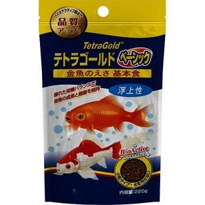 テトラ ゴールド金魚のえさ ベーシック 220g 70024