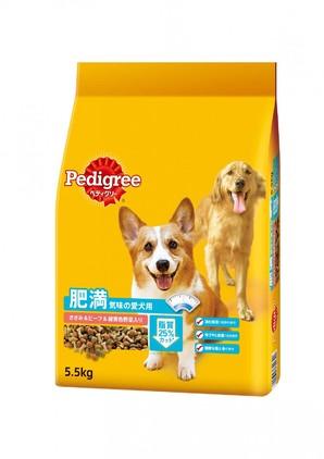 PDN18 ペディグリー 肥満気味の愛犬用 ささみ&ビーフ&緑黄色野菜入り 5.5kg