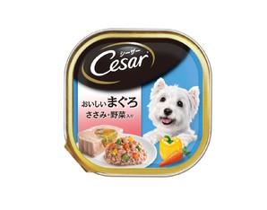 CE70N シーザー おいしいまぐろ ささみ・野菜入り 100g