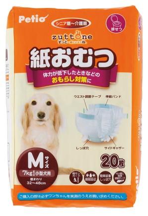[ペティオ] 老犬介護用 紙おむつ M 20枚