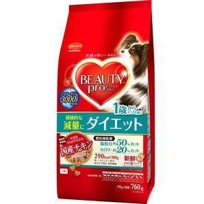 [日本ペットフード] ビューティープロ ドッグ ダイエット760g