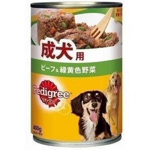 P2 ペディグリー 成犬用 ビーフ&緑黄色野菜 400g
