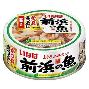 [いなばペットフード] 前浜の魚 かつお丸つぶし 野菜入り 115g IWF-142