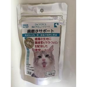 ドクターヴォイス 猫にやさしい 歯磨きサポート 20g