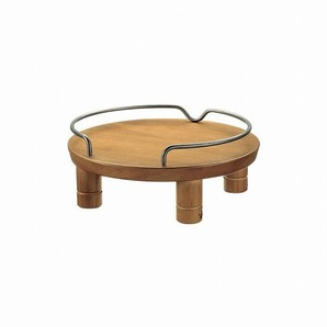 [リッチェル] ペット用 木製テーブル シングル ブラウン