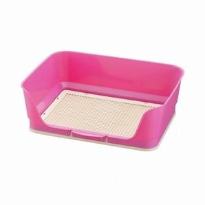 [リッチェル] しつけ用ステップ壁付きトイレ レギュラー ピンク