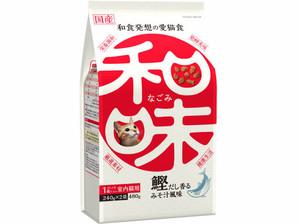 [アース・ペット] 和味 鰹だしの香るみそ汁風味 480g