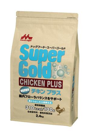 [森乳サンワールド] SuperGold チキンプラス 体重調整犬用 2.4kg