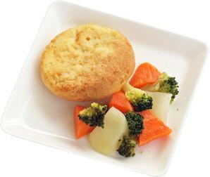 [ホットドッグ] 愛犬用お惣菜プレート おさかな豆腐バーグプレート <メーカー直送>