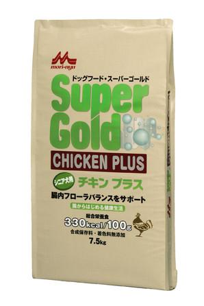 [森乳サンワールド] SuperGold チキンプラス シニア犬用 7.5kg