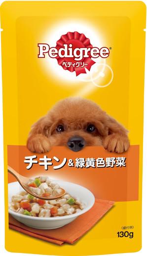 P104 ペディグリー 成犬用 チキン&緑黄色野菜 130g