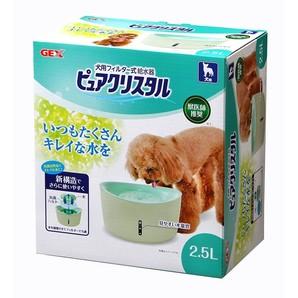 [ジェックス] ピュアクリスタル 2.5L 犬用・多頭飼育用