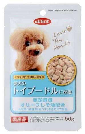 [デビフペット] 愛犬のトイプードルに配慮 50g