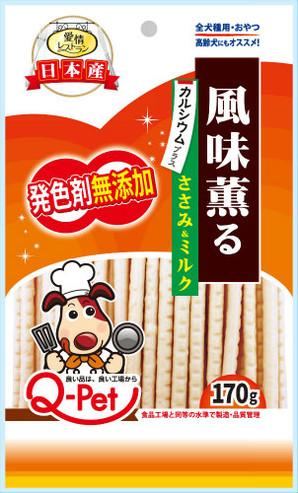 愛情レストラン 風味薫るササミ&ミルク 170g