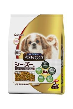 [ユニチャーム] 愛犬元気ベストバランスシ-ズ-用2kg