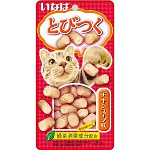 [いなばペットフード] とびつく チキンスープ味 25g QSC-213
