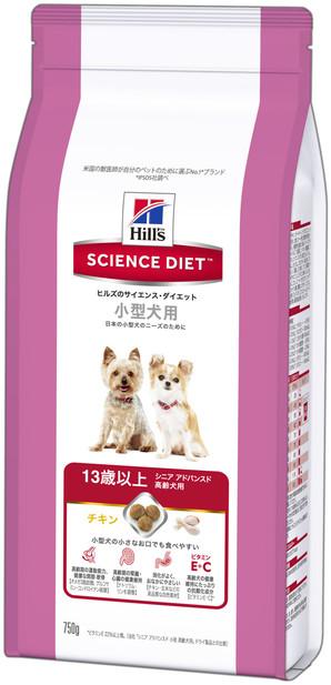 [日本ヒルズ] サイエンス・ダイエット シニアアドバンスド 小型犬用高齢犬用 750g