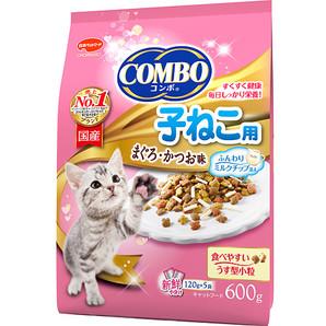 [日本ペットフード] コンボキャット 子ねこ用 ミルクチップ添え 600g