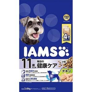 [マースジャパン] IAMAS アイムス 11歳以上用 毎日の健康ケア チキン 小粒 2.6kg