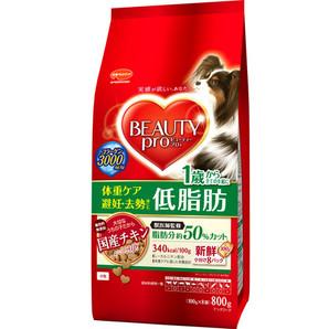 [日本ペットフード] ビューティープロ ドッグ 低脂肪 800g