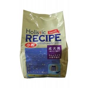 [パーパス] Holistic RECIPE ホリスティックレセピー ラム&ライス 成犬用 小粒 2.4kg
