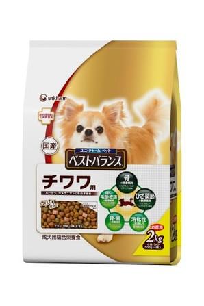 [ユニチャーム] 愛犬元気ベストバランスチワワ用2kg