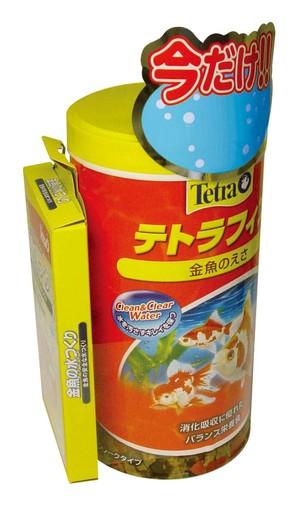 [スペクトラムブランズジャパン] テトラフィン金魚の水タブ付お買い得パック