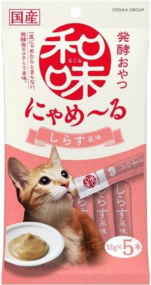 [アース・ペット] 和味 にゃめーる しらす風味 12g×5本