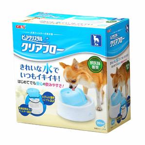 [ジェックス] ピュアクリスタル クリアフロー 犬用 ブルー